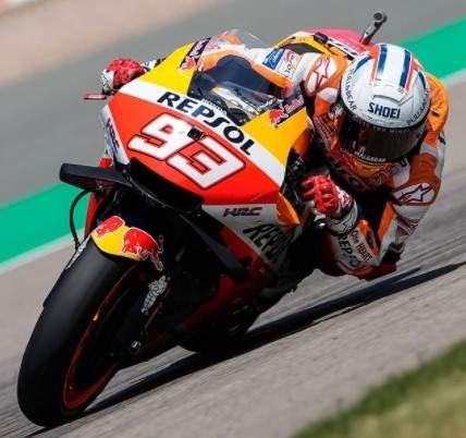 Marc Marquez Juara Motogp Sachenring 2021