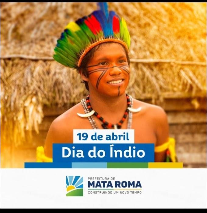 Dia 19 de Abril é comemorado o dia o Índio.
