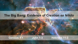 The Big Bang: Evidence of Creation Out of Nothing