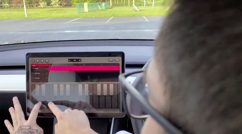 New update turns Tesla machines into musical instruments