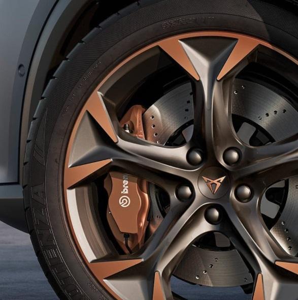 Cupra Car Wheel