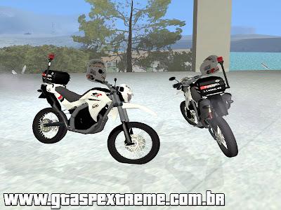 Yamaha XT660 PMESP para GTA San Andreas