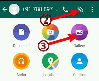 Whatsapp Par GIF Animation Image Kaise Banaye or kaise send kare .