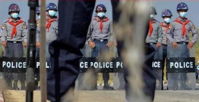 Aung San Suu Kyi Ditahan, Min Aung Hlaing Pimpin Kudeta Militer Myanmar .lelemuku.com.jpg