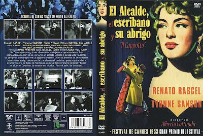 Carátula dvd: El alcalde, el escribano y su abrigo