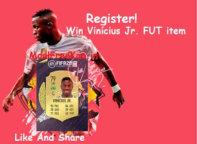 Win the real Vinícius Jr. FUT item