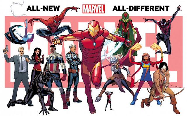 All-New, All-Different Marvel Universe teaser