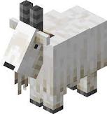 Minecraft Mountain Goat