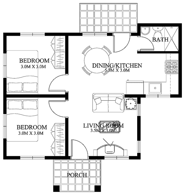 Philippines P576K To P732K Free Home Blueprints And Floor