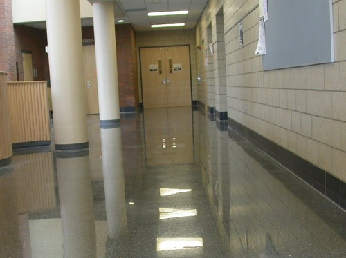 Terrazzo Vct Vinyl Floor Stripping Waxing Refinishing