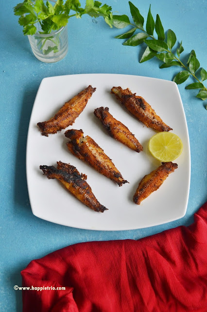 Anchovies Fish Fry Recipe