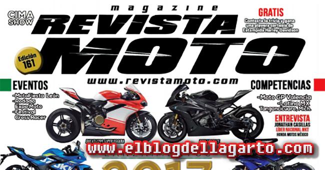 Revista Moto No.161 - Lanzamientos 2017 banner