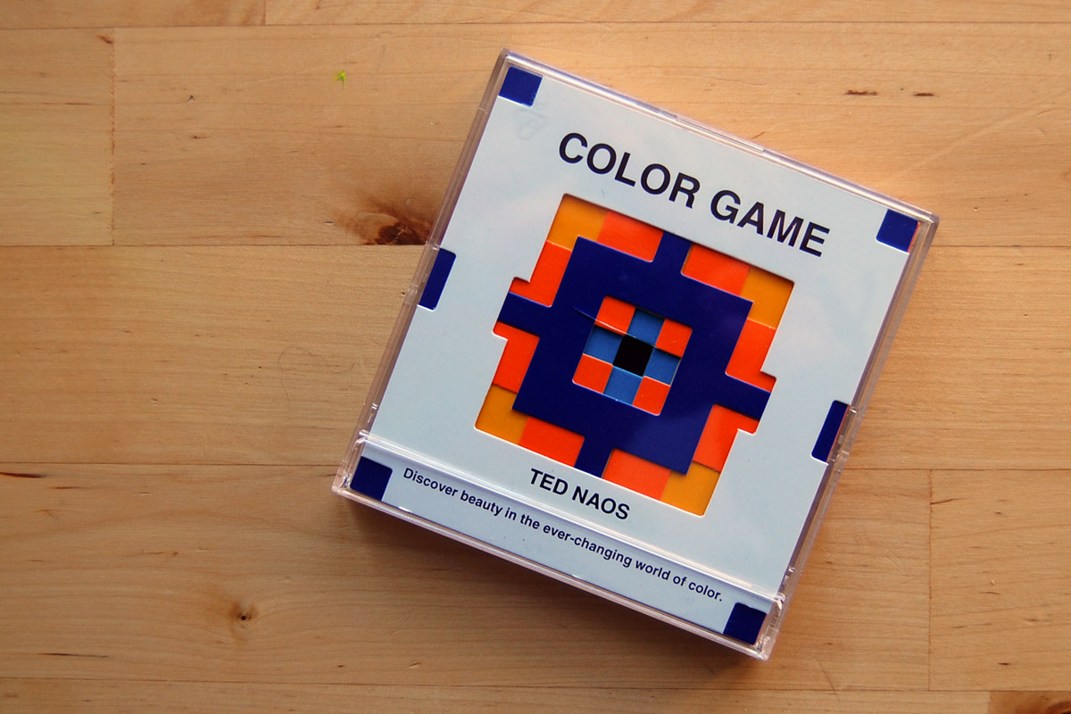 Game color theory - The Color Game By Ted Naos Includes A Series Of Colored Cards With Different Cut Outs And Instruction Cards They Measure Roughly 3 5 X 3 5 Inches Square