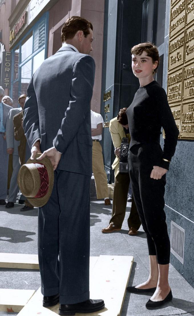 Copiando o estilo de Audrey Hepburn em Sabrina