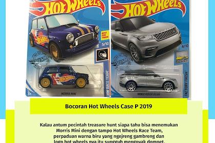 Bocoran Hot Wheels Case P 2019
