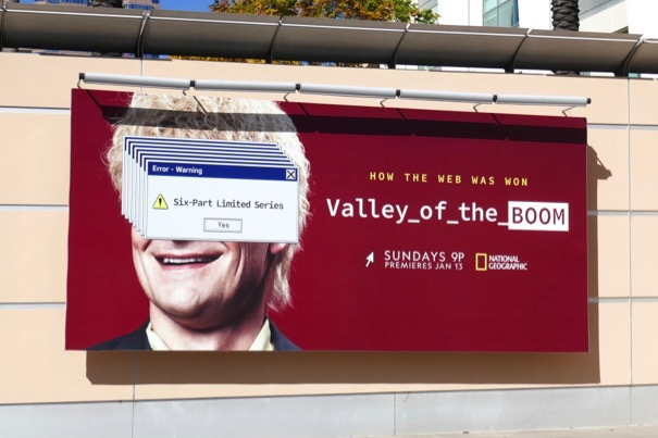 Valley of the Boom season 1 billboard