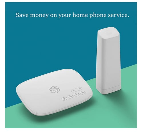 Ooma TELO4GBATT Telo 4G VoIP Safety Phone