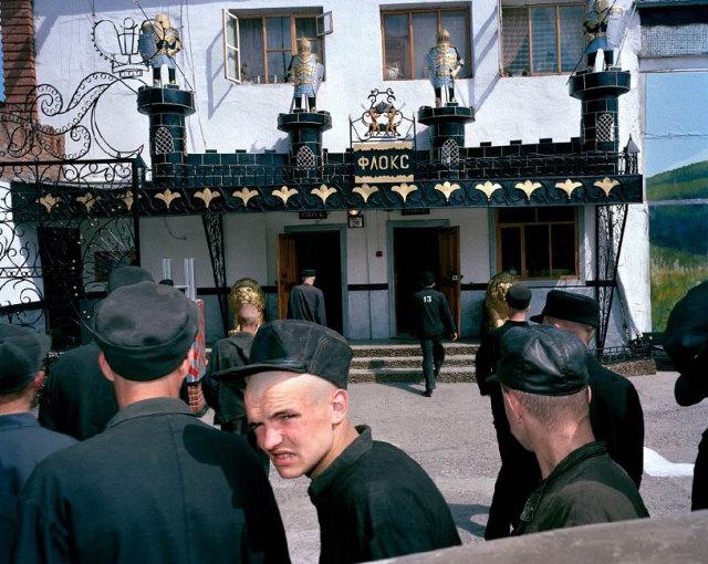 menores presos en las colonias siberianas