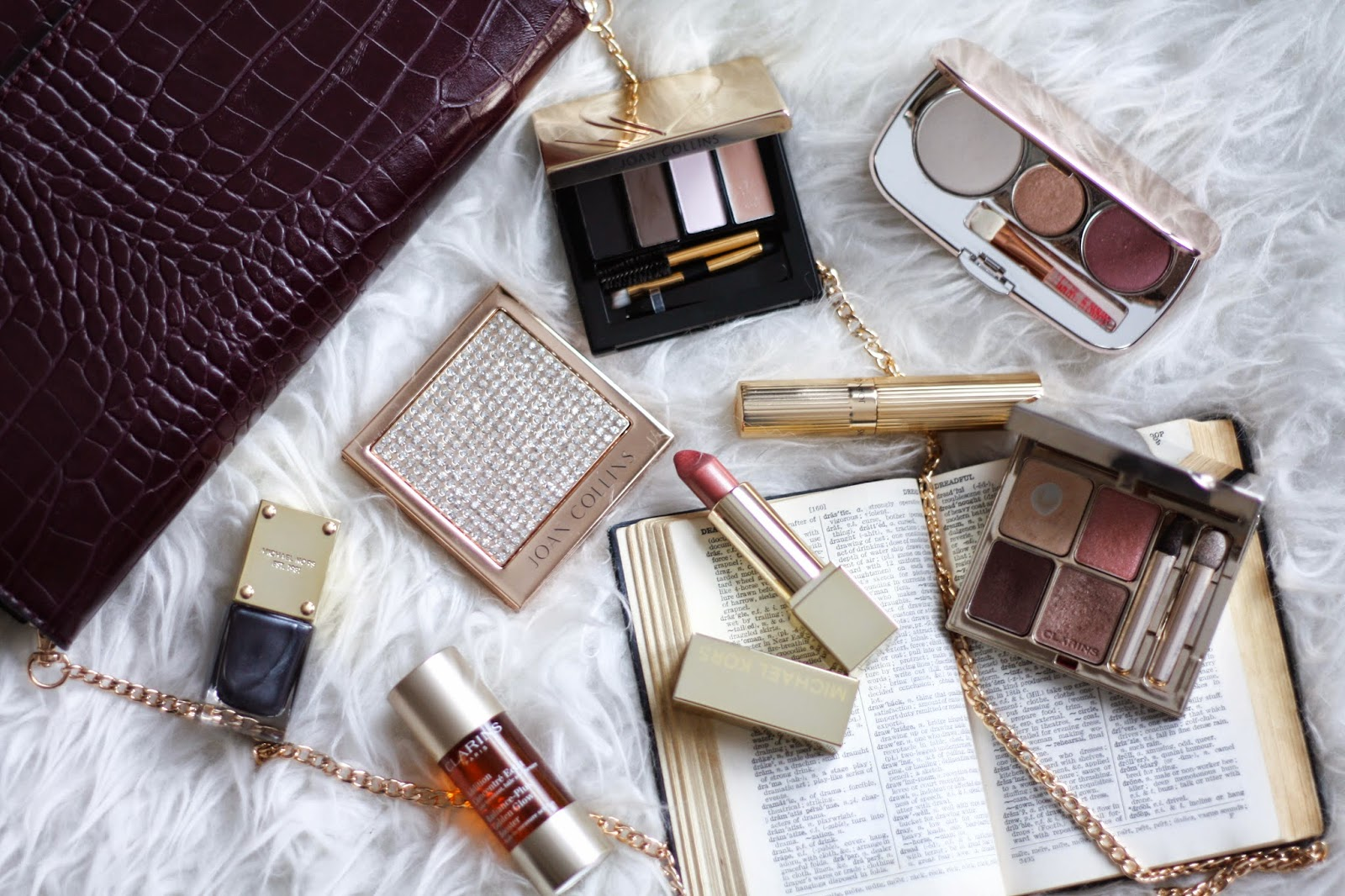 Michael Kors, Clarins, Jane Iredale, Joan Collins review