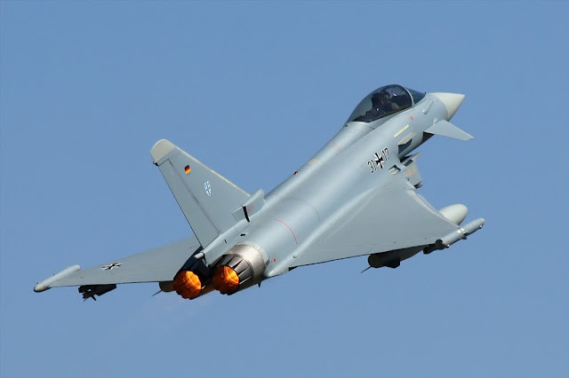 Belgian German fighter jets intercept russian