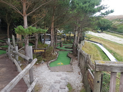 Alpine Adventure Golf course on the Great Orme in Llandudno