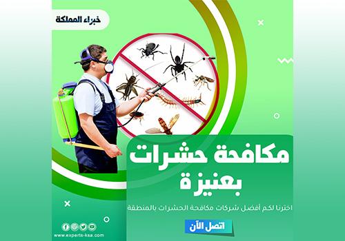 مكافحة حشرات بعنيزة