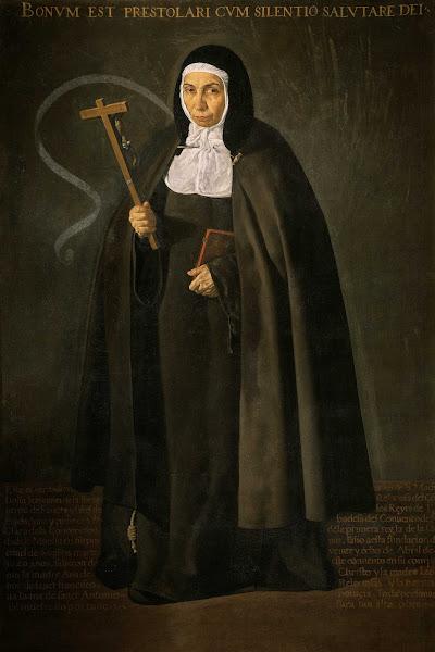 Диего Веласкес - Уважаемая мать Иеронима де ла Фуенте (ок.1620)