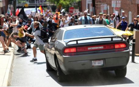 #Charlottesville: One dead and 19 injured as speeding car rams into protesters in Charlottesville