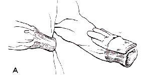 Enfermería Quirúrgica: Calzado de Bata Quirúrgica y Guantes (con ...