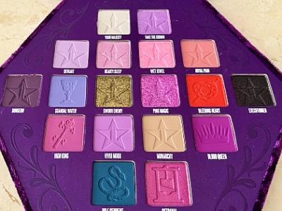 Jeffree Star Cosmetics: Blood-Lust-Lidschattenpalette