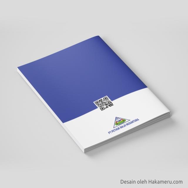 Desain cover sampul company profile perusahaan general trade, engineering, contractor