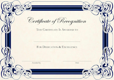 Free Certificate Templates Blank Fgtaw