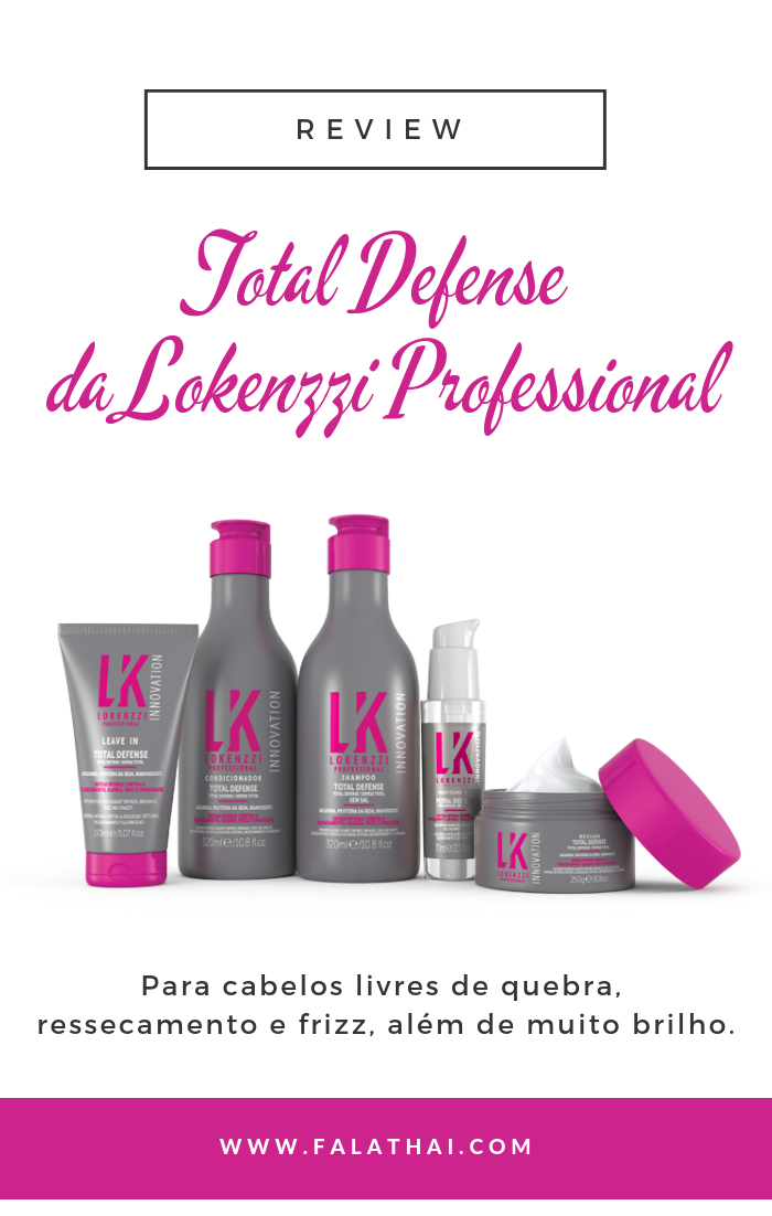linha total defense da lokenzzi professional
