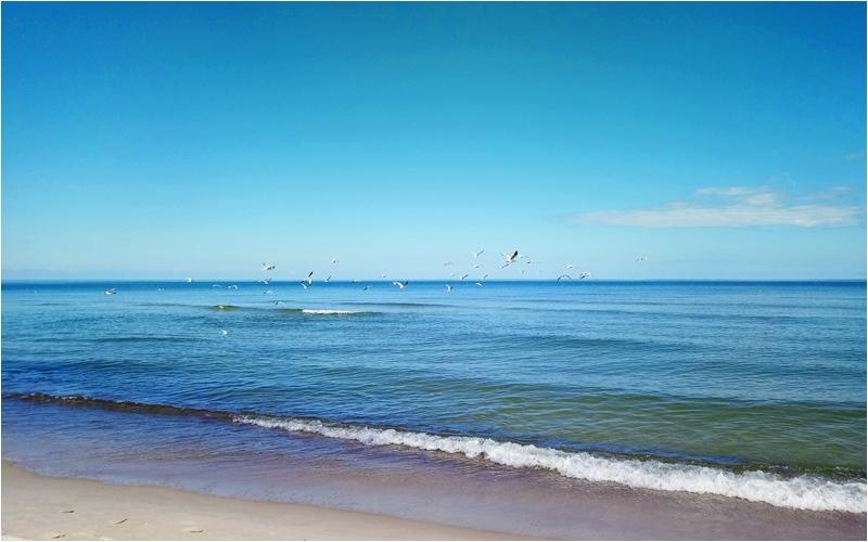 puste plaze nad Baltykiem