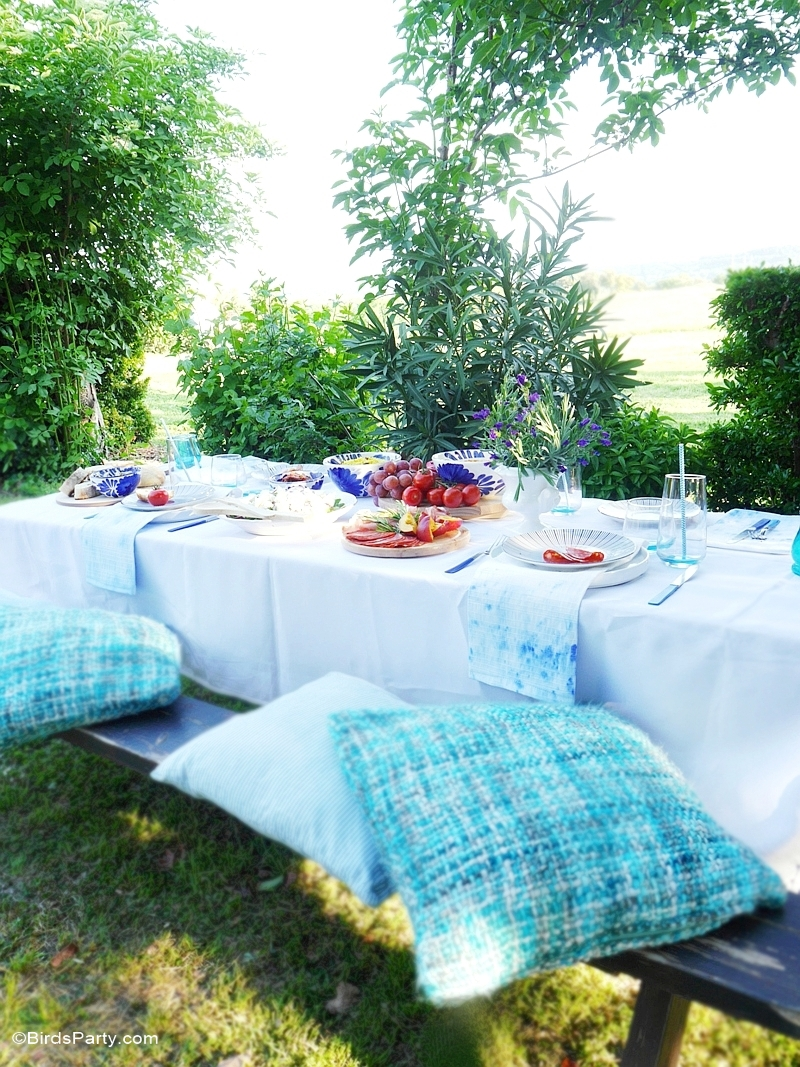 A Mediterranean Inspired Mezze Party - BirdsParty.com