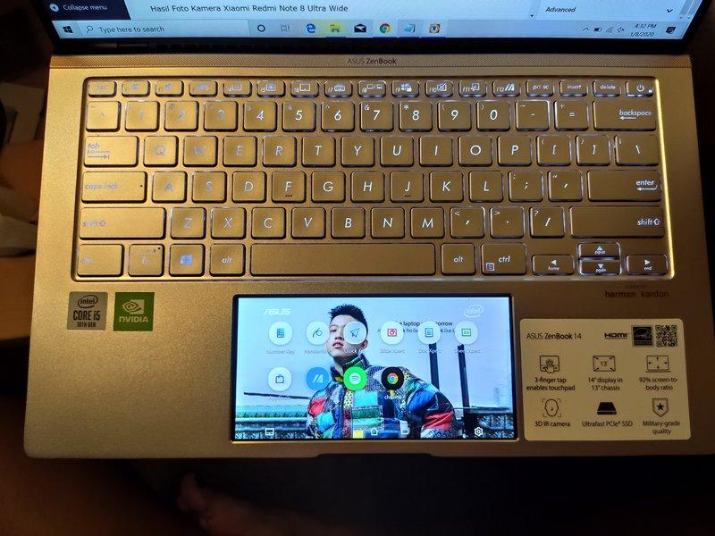Desain Asus Zenbook 14 UX434FLC