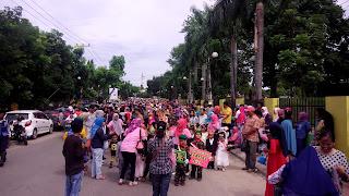 Meriahkan HAN,Pemkot Prabumulih Gelar Karnaval anak TK dan PAUD