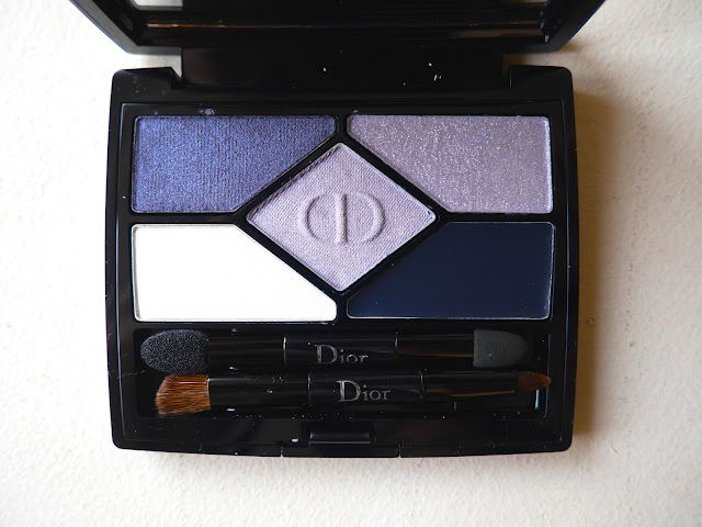 Dior 5 Couleurs Designer 208 Navy Design Palette swatch review