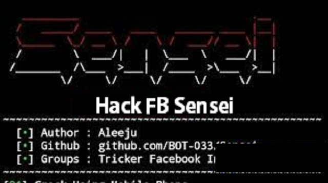 Hack FB Sensei