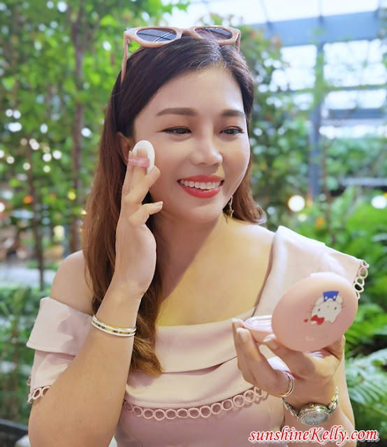 Cathy Doll, Hello Kitty, Makeup Review, Beauty