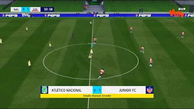 PES 2017 Scoreboard Liga Aguila 2019 by JAS