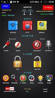 Aplikasi alarm motor android M45OTO