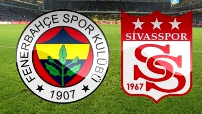 Fenerbahçe Sivasspor Maçı Canlı izle (şifresiz maç izle)