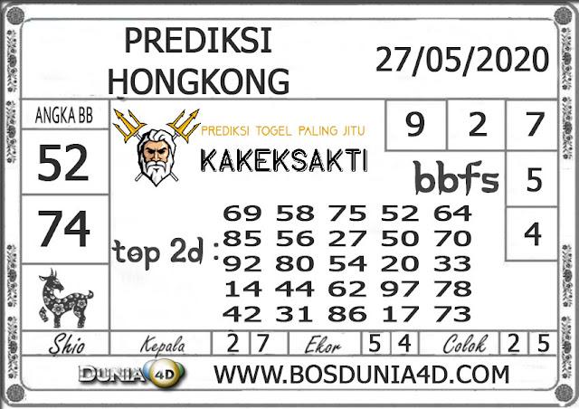 Prediksi Togel HONGKONG DUNIA4D 27 MEI 2020