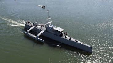 EUA planejam renovação da Marinha com navios autônomos