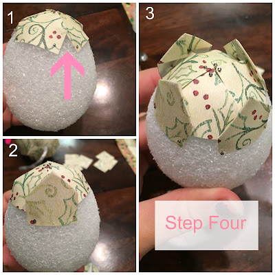 Easy DIY paper pine cone Christmas ornament for cheap! It looks so complex but is really so easy & will definitely impress! Perfect for an ornament exchange!
