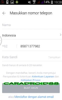 Buat Akun BBM Dengan Nomor Telepon Daftar BBM Baru Langsung Jadi