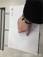 Gro Jeanette Nilsen sender  signert kontrakt! :-)