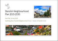 Cover of Standish Neighbourhood Plan