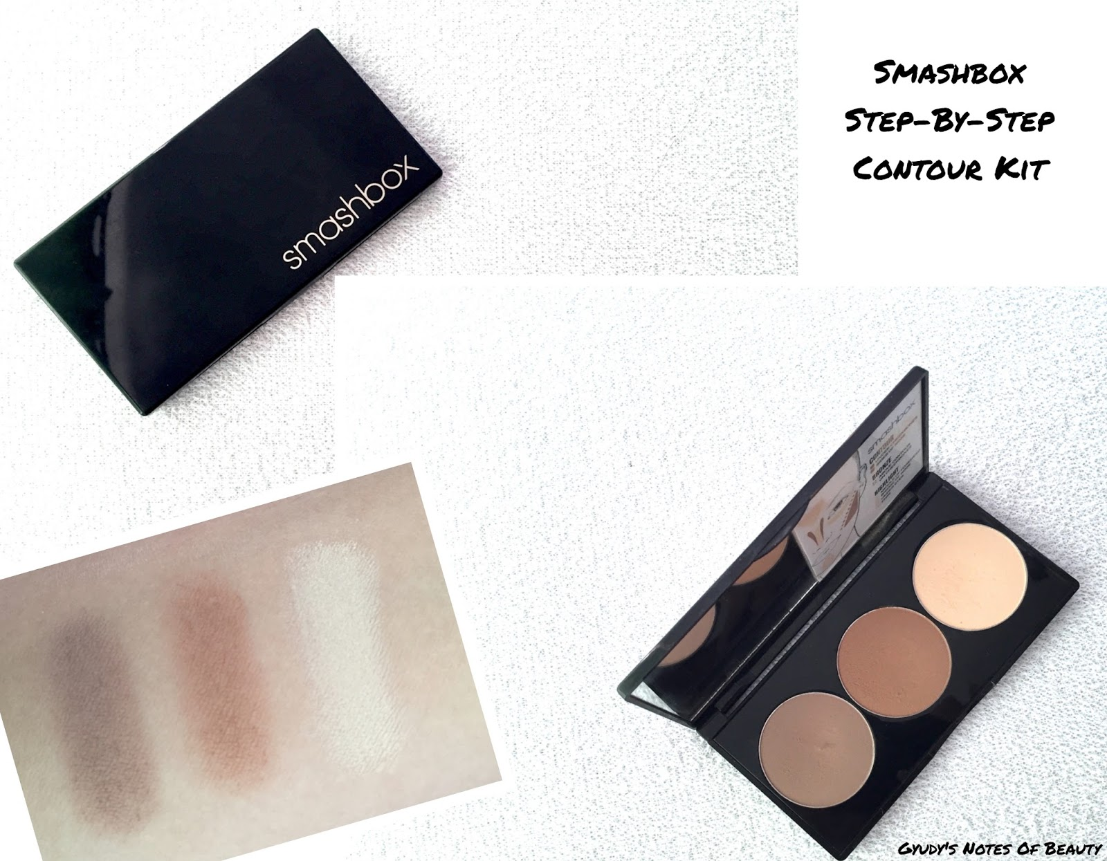 Gyudy's Notes Of Beauty: Smashbox Step-By-Step Contour Kit Review